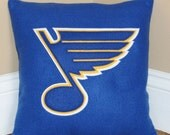 St. Louis Blues Pillow