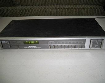 Vintage 1980's Pioneer TX950 Digital AM/FM Tuner