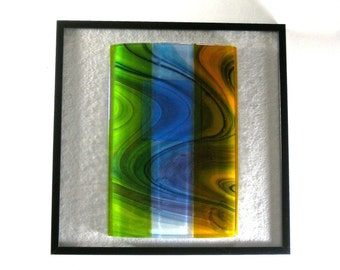 Art Glass Wall Art Abstract Three Dimensional Sculpture Life Current Artist Signed