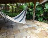 Hammocks! Adult sized cotton hand woven hammock from Guatemala.  Mayan made banana hammocks 11