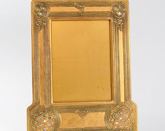 """Tiffany Studios 1147 Abalone Picture Frame """"Rare"""" only a few ever made- """"The best of the best"""" Tiffany & Co"""