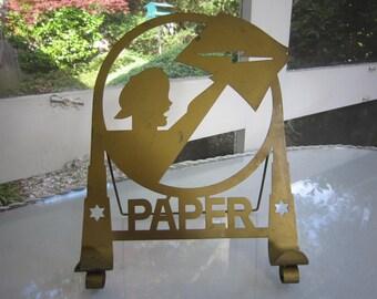 VINTAGE PAPER STAND