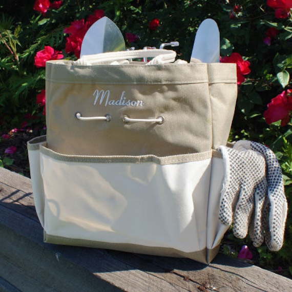 Details. Anyone Would Smile If They Got This Garden Tool Tote Bag ...