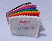 SALE - Mini Colors Quiet Book