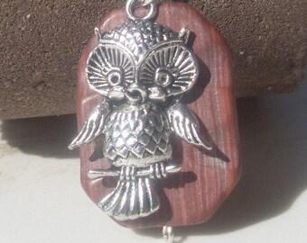 Owl Woodland Creature Necklace