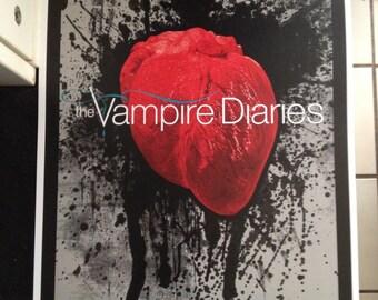 Vampire Diaries poster print