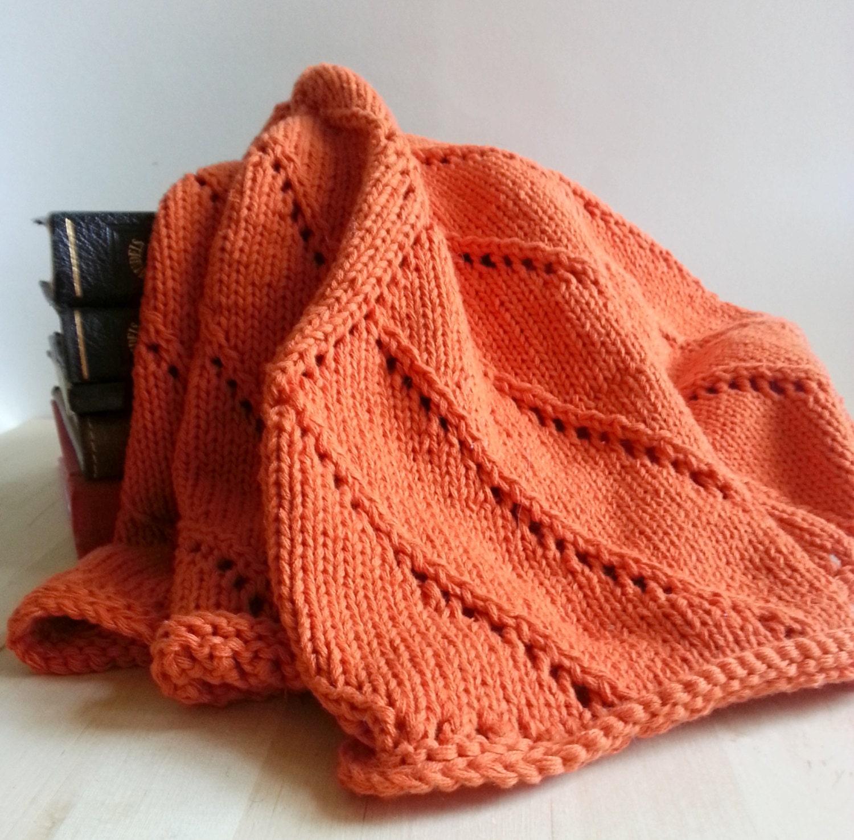 handarbeit stricken mandala babydecke orange kinderwagen. Black Bedroom Furniture Sets. Home Design Ideas