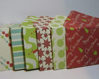 2x3.5 Christmas Gift Card Envelopes
