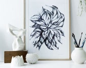 Swirling Leaves 50x70cm