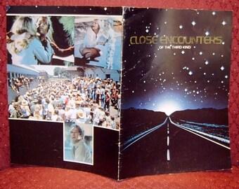 Book Close Encounters of the Third Kind Souvenir Program 1977