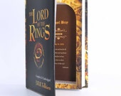 Custom Groomsman Gifts - Book Safe - LORD of the RINGS - Best Man Wedding personalized gift with message inside FREE Shipping 4 or more
