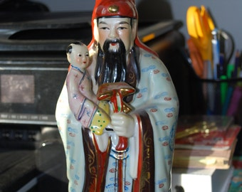 Vintage Chinese Statue