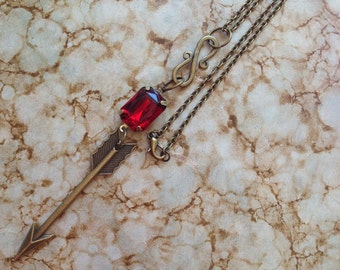 The True Love of Cupid and Psyche Fairy Tale Geek Girl Necklace