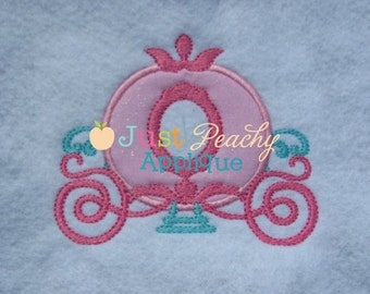 Princess Carriage - Appliqued and Personalized