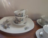 SALE Midwinter Stylecraft tea set 'Orchard Blossom' mid century tea cups and saucers retro coffee set