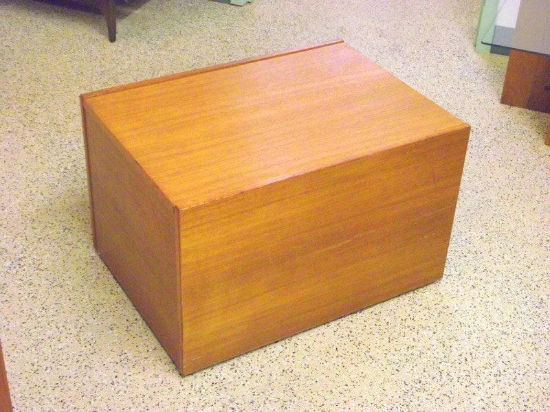 Jesper Danish Modern Teak Cubist Chest Trunk Storage Box