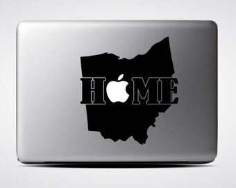 Ohio State Home / Macbook Sticker / Laptop Decal