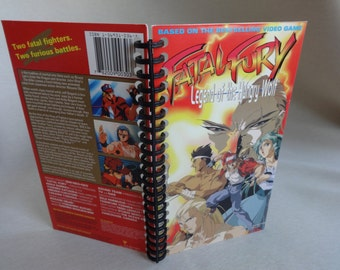 Fatal Fury Legend of the Hungry Wolf VHS Box Notebook
