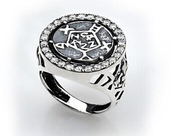 safe keeper zircon ring