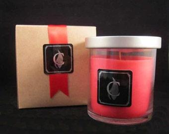 CRANBERRY POMEGRANATE candle, 8 oz, optional gift box