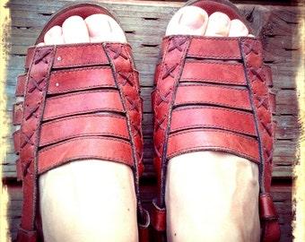 HIPPIE   ///    Leather Boho Sandals