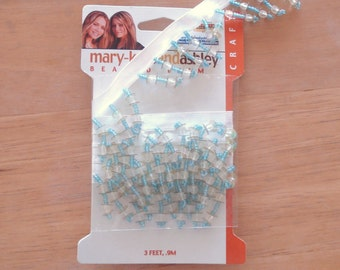 Mary-Kate And Ashley Beaded Fringe 1 3/8 Inches Wide.