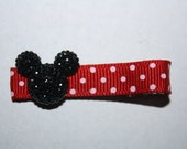 Mickey Mouse Bling Disney  Hair Clippie, 1 for 99 CENTS