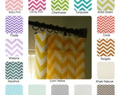 "Pair of  25"" W Rod Pocket Curtains Chevron Zig Zag various sizes 63"", 84"", 96"", 108"", 120"