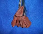 1 Real animal deer leather Buckskin Bag/Purse Pouch medicine bag