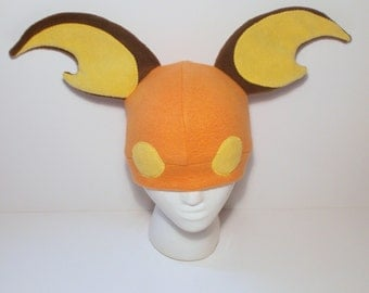 Pokemon Fleece Raichu Hat