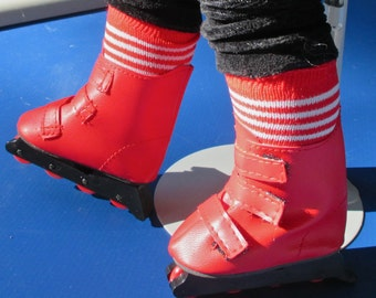 Roller Blades, Striped Socks & Sunglasses for AG,  3 Pc. Set