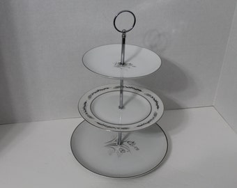 Three Tiered Serving Tray