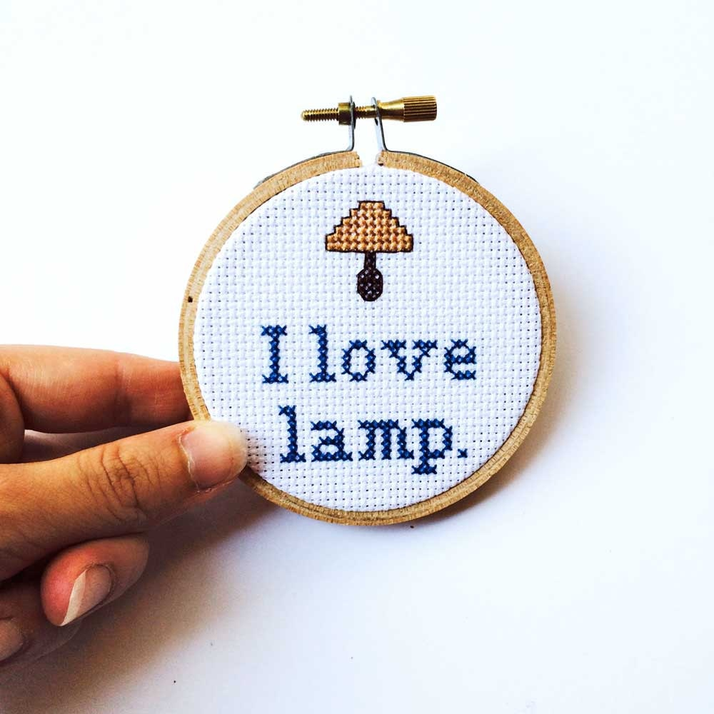 I Love Lamp Anchorman Brick Tamland Quote Funny by ...