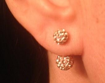 Mirror Ball Drop Earrings