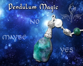 Dowsing Pendulum Reading - 5 Questions - PDF via email.