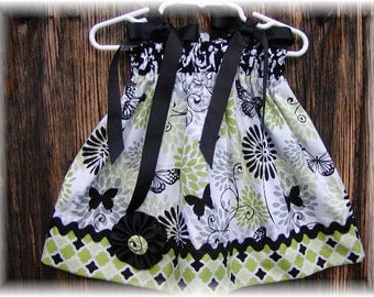 Girls Dress  Pillowcase style....Butterfly Princess...sizes 0-3, 0-6, 6-12, 12-18, 18-24 months, 2T, 3T