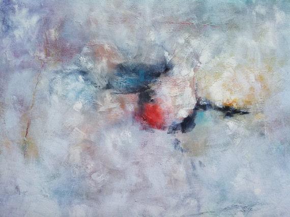 Art abstrait nuances de grise grise et blanche peinture gris - Nuance de gris peinture ...