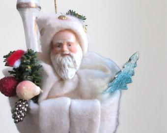 SALE Santa Claus Christmas Tree Ornament Holiday Decor