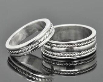 infinity ring, wedding band, wedding ring, engagement ring, mens ring, mens wedding band, man wedding ring band, men promise ring