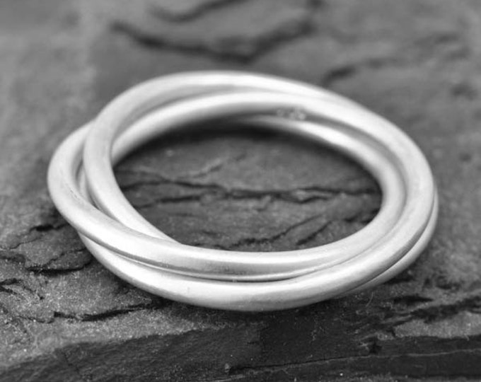infinity ring, his and hers wedding ring, infinity knot ring, best friend ring, sister ring, sterling silver ring, engagement