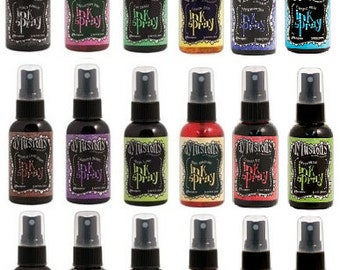 Dylusions Ink Sprays - Pick from 30 colors including 6 brand new 2017 colors - You Choose