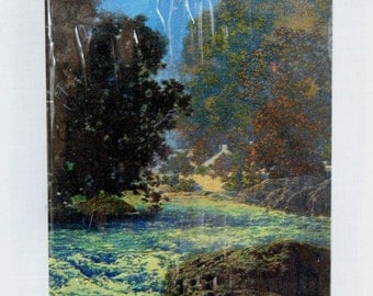 Vintage Maxfield Parrish Misty Morn Playing Cards