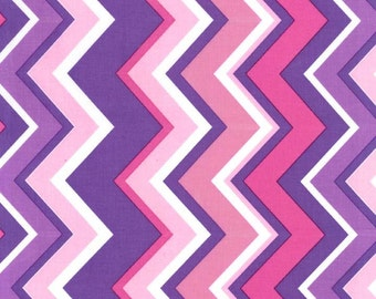 Pink & Purple Princess Chevron From Michael Miller