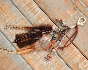 Gypsy Dreamcatcher Purse Charm