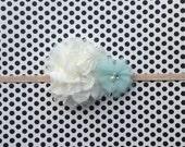 Creamy Mint Headband