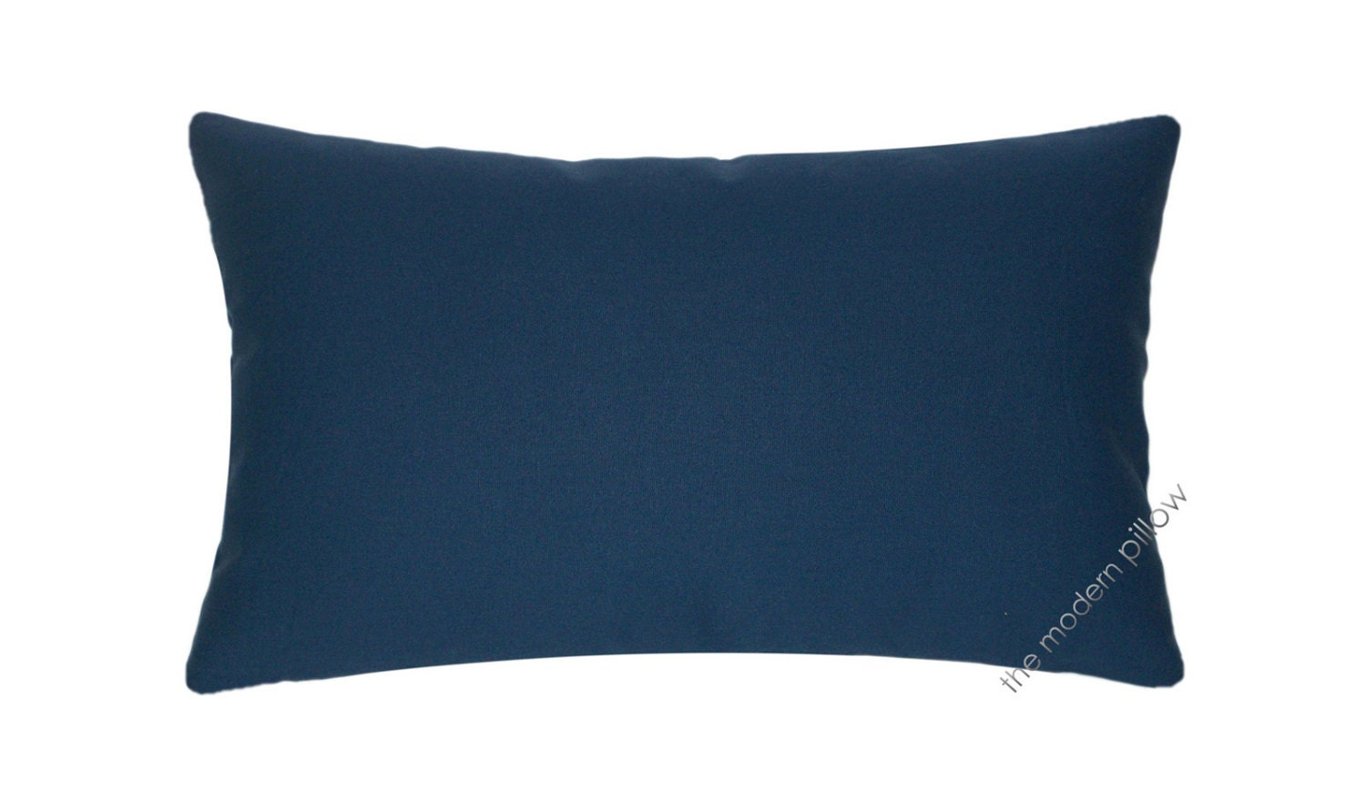 Navy Blue Solid Decorative Throw Pillow Cover / Cushion Cover