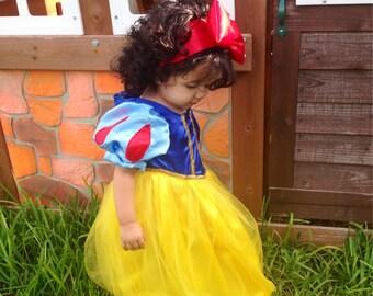Handmade - Snow White Dress, Snow White Costume, Snow White Costume, Snow White Dress Cosplay Costume, Princess - Princess Dress Birthday