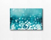 large art abstract canvas art teal home decor bokeh photography fine art photography canvas wrap gallery teal wall art canvas print nautical