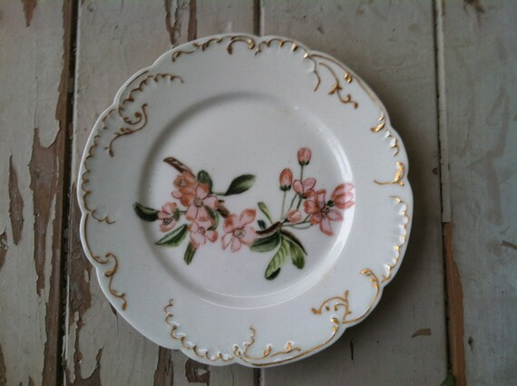 Antique Haviland Limoge China Plate With Hand By