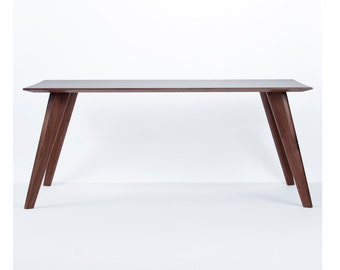 Pinnate Walnut Coffee Table